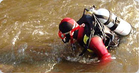Underwater search and rescue - Sauvetage02, Saguenay Lac-Saint-Jean